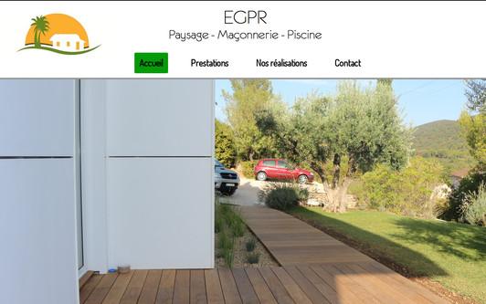 Example website EGPR Var Paysagiste