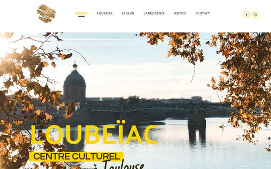 Ejemplo de sitio web Loubeïac