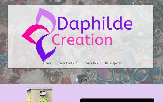 Ejemplo de sitio web Daphilde Création