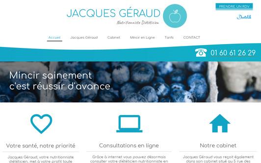 Ejemplo de sitio web Cabinet Nutritionniste Région de Meaux