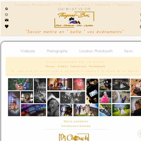 Webseite gestalten