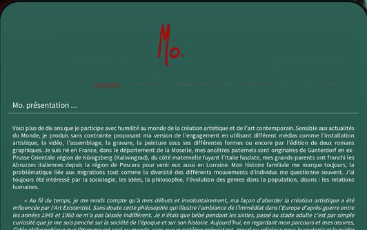 Example website www.morisson-art.com