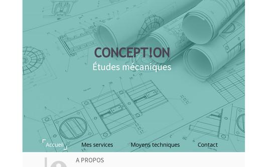Example website concepton