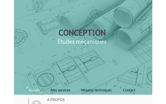 Example website concepton
