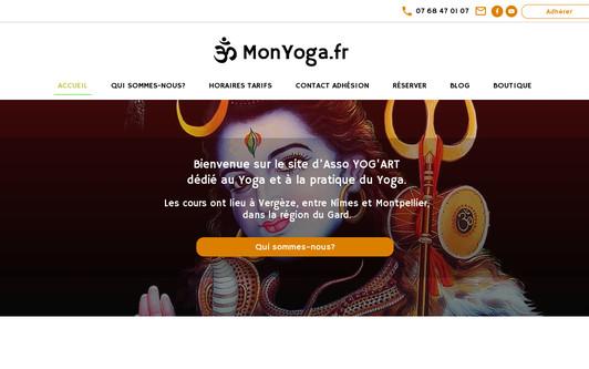 Example website monyoga