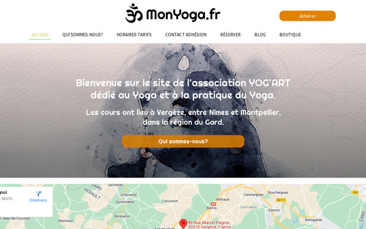 Site exemple monyoga