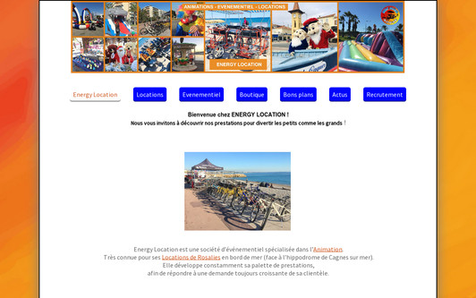 Site exemple ENERGY LOCATION