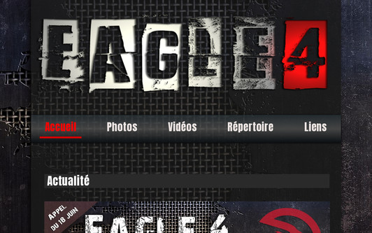 Example website Eagle 4