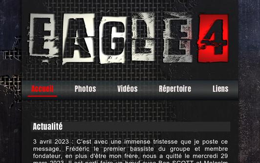 Ejemplo de sitio web Eagle 4