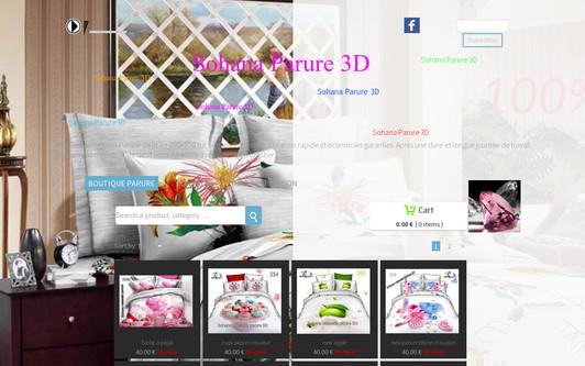 Site exemple sohana vaisselle parure 3D