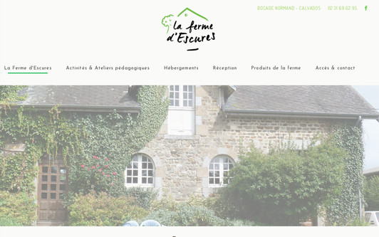 Site exemple Ferme d'Escures