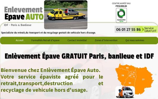 Site exemple enlevement-epave-auto.com