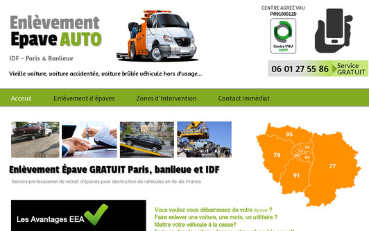 Site exemple enlevement-epave-auto.com