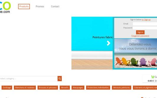 Site exemple LCOboutique.com