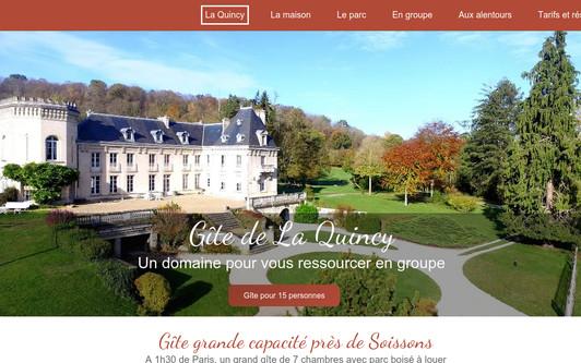 Site exemple Gîte La Quincy Soissons 02