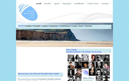 Example website ensemble musica nigella